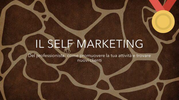 videocorso self marketing